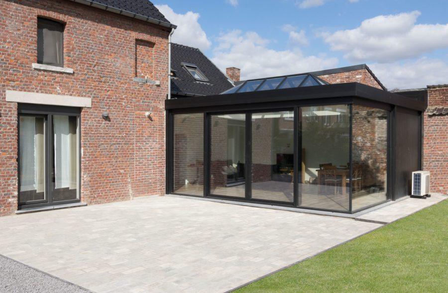 Moderne veranda te Ath