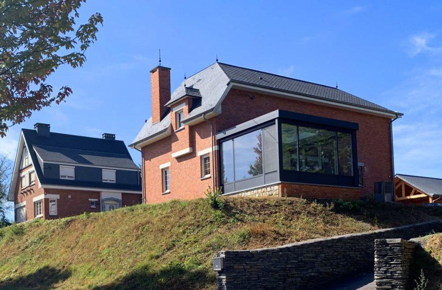 Moderne veranda te Bievre