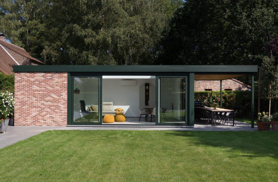 Moderne veranda te Gent-Brugge