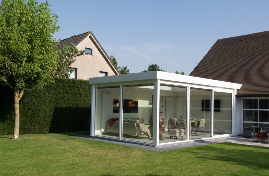 Moderne veranda te Sint-Amandsberg