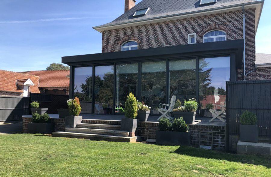 Moderne veranda achet le petit france