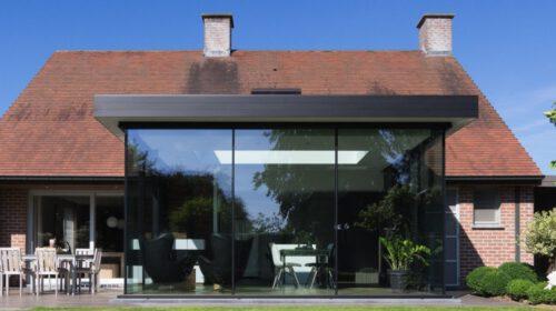 De trend in veranda's? Ga voor de steel look